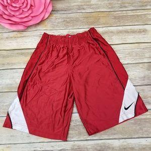 ⬇️⬇$35 Nike Red Basketball Shorts Boy MEDIUM 10/12